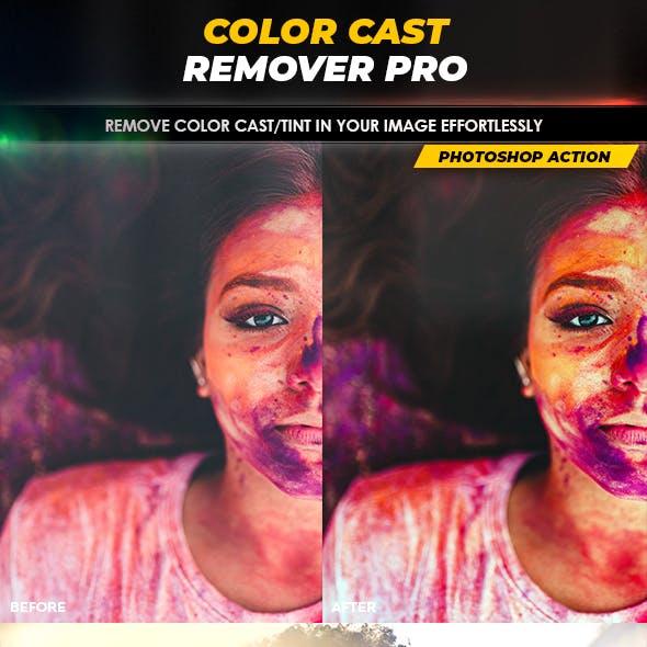 Color Cast Remover PRO - Photoshop Action