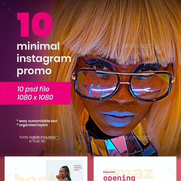 Instagram Pack - 10 Posts