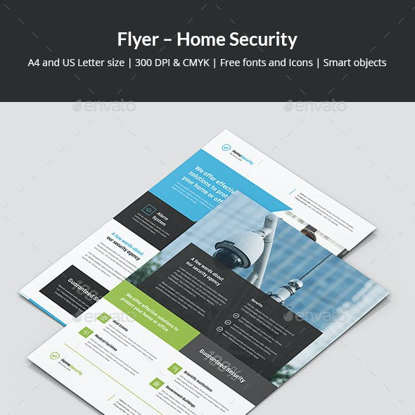 Flyer – Home Security