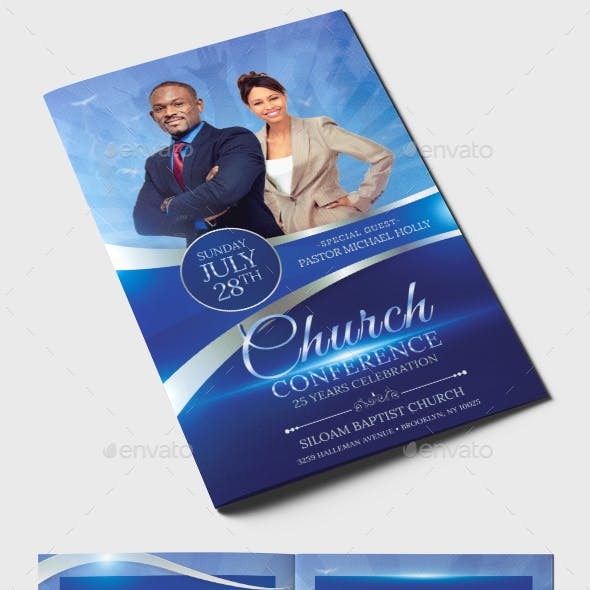 Church Conference Program Template