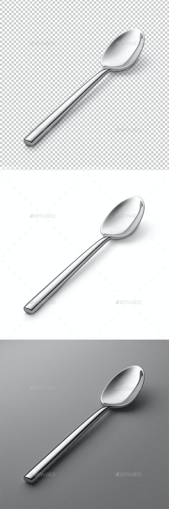 Spoon - Objects 3D Renders