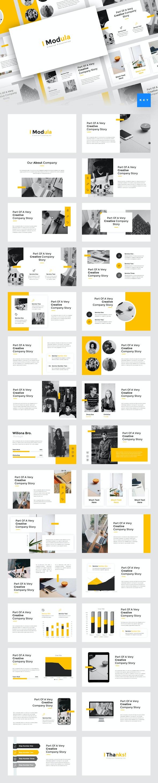 Modula - Creative Keynote Template - Creative Keynote Templates