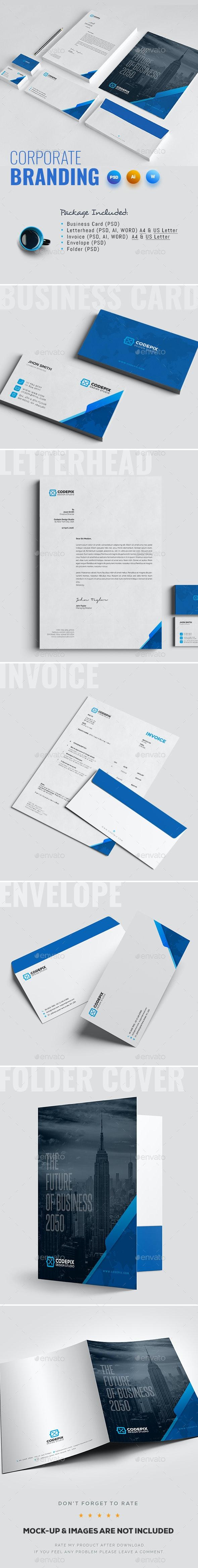 Corporate Identity - Stationery Print Templates
