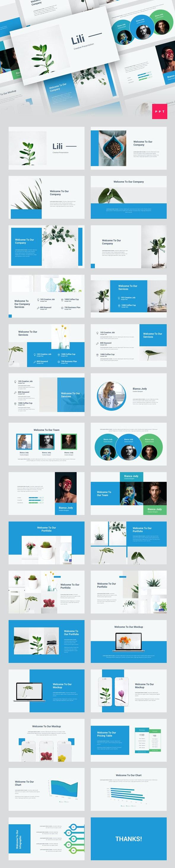 Lili - Creative PowerPoint Template - Creative PowerPoint Templates