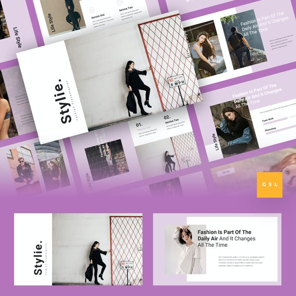 Stylie - Fashion Google Slides Template