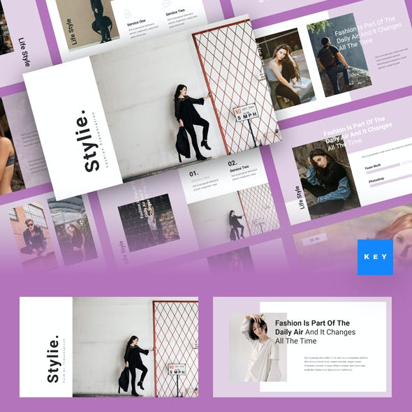 Stylie - Fashion Keynote Template