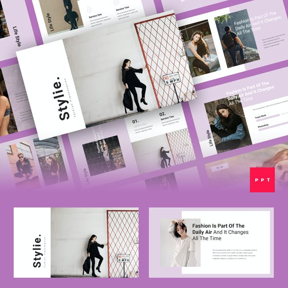 Stylie - Fashion PowerPoint Template