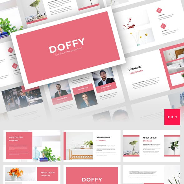 Doffy - Creative PowerPoint Template