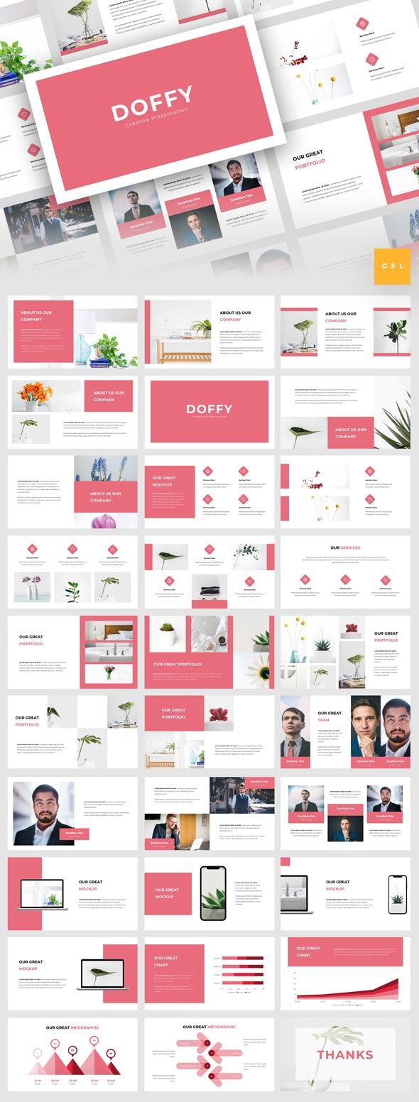 Doffy - Creative Google Slides Template - Google Slides Presentation Templates