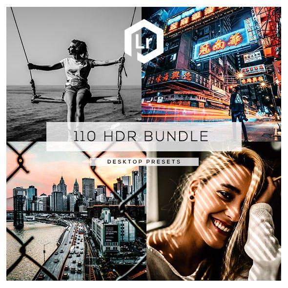 110 HDR Bundle Lightroom Presets
