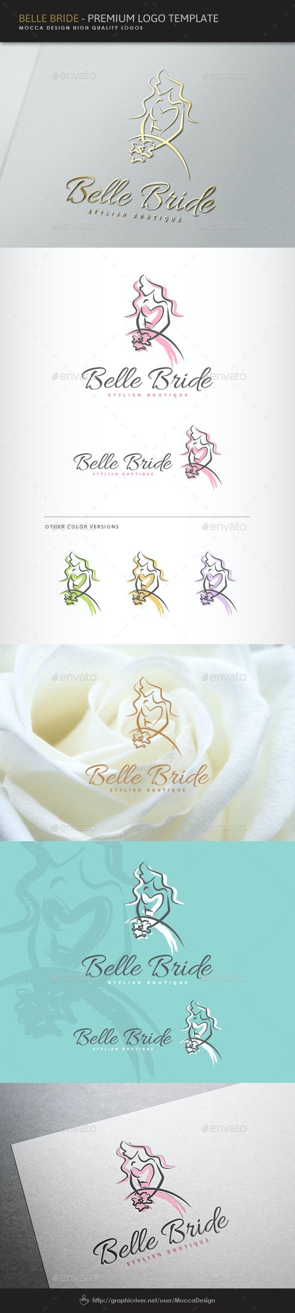 Belle Bride Logo - Humans Logo Templates