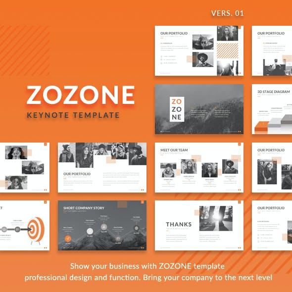 Zozone - Simple Modern Keynote Presentation Template