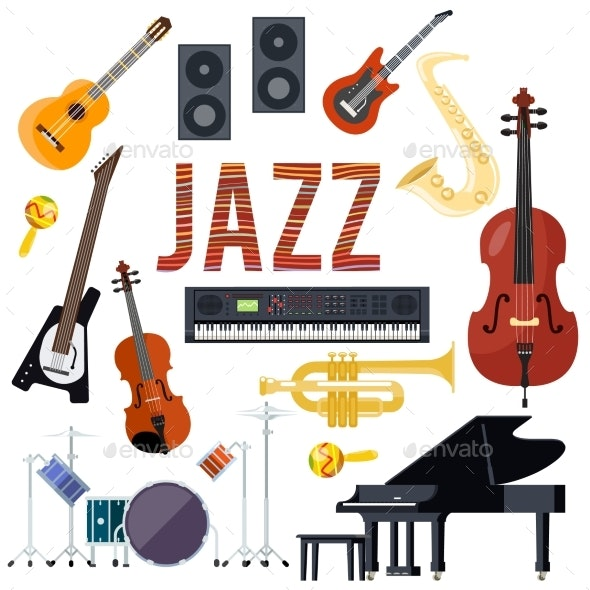 Classical Jazz Performance Musical Instruments - Man-made Objects Objects