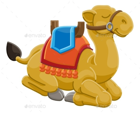 Camel Animal Cartoon Character - Animals Characters