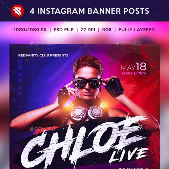 Guest DJ Instagram Banner Posts