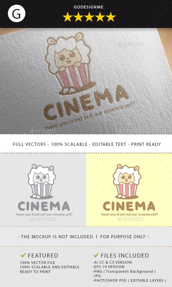 Cinema Logo Design - Vector Abstract