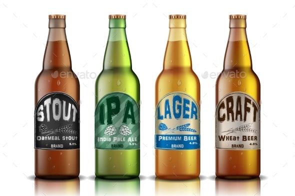 Craft Beer Label Design - Miscellaneous Vectors