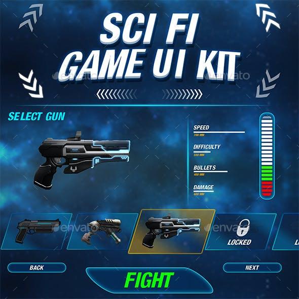 Sci-Fi Game UI