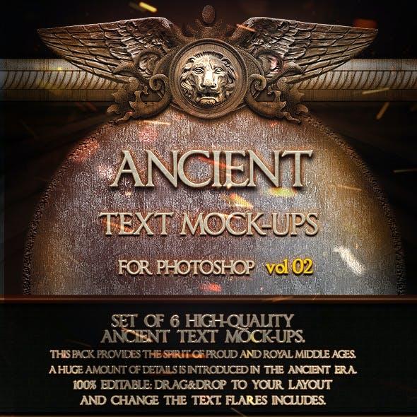 6 Ancient Mock-Ups  vol. 02