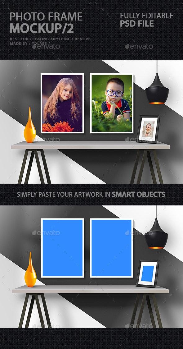 Photo Frame Mockup 2 - Print Product Mock-Ups