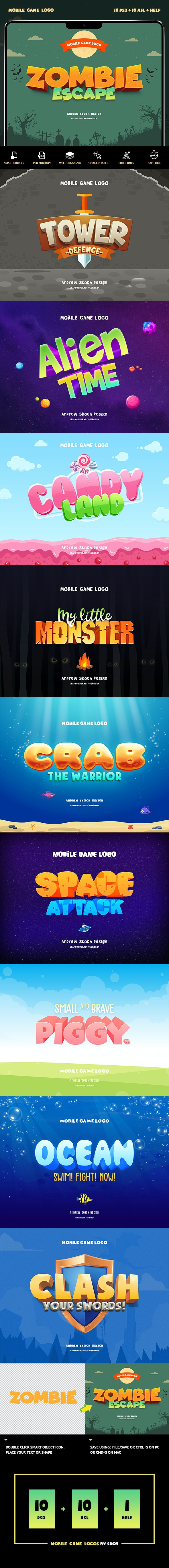 Game Titles Text Effects vol.1 - Text Effects Actions