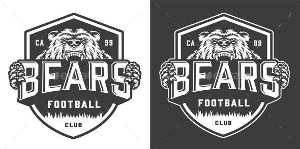 Football Emblem - Sports/Activity Conceptual