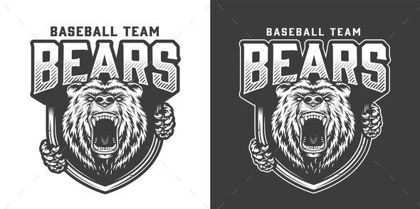 Bear Logotype - Sports/Activity Conceptual