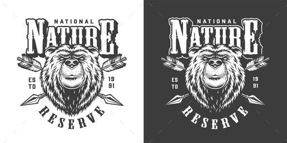 National Park Emblem - Decorative Symbols Decorative