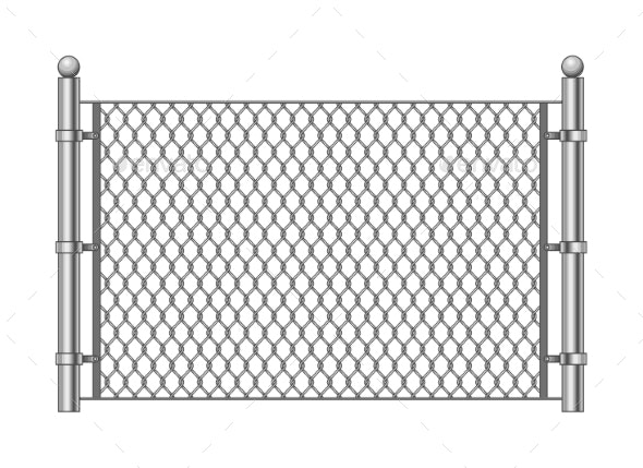 Metal Chainlink Fence - Industries Business