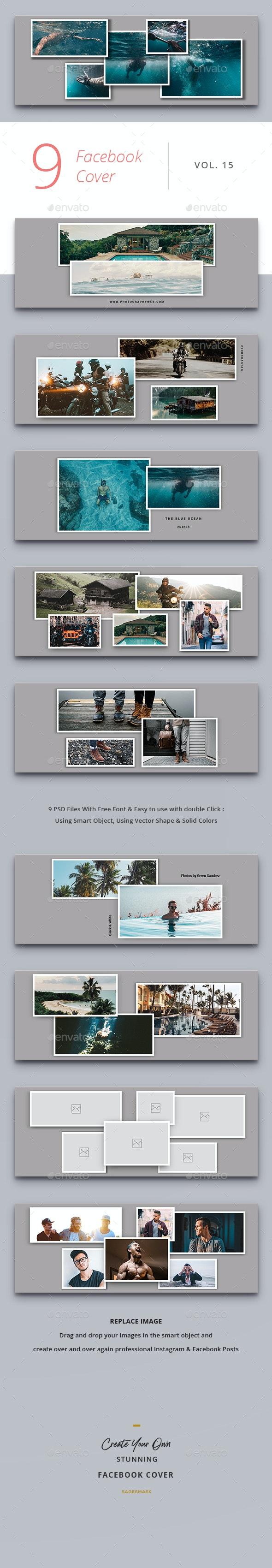 Facebook Cover Vol. 15 - Facebook Timeline Covers Social Media