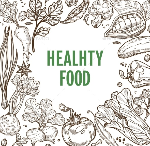 Healthy Food Organic Products Vegetable Nutrition - Food Objects