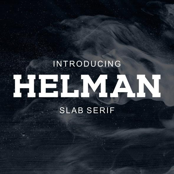 HELMAN - Serif Fonts