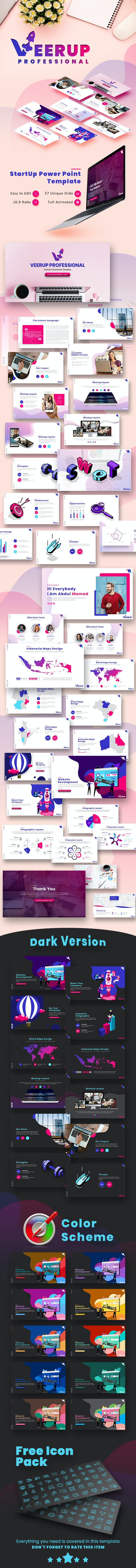 VeerUp Professional Presentation Template - Creative PowerPoint Templates