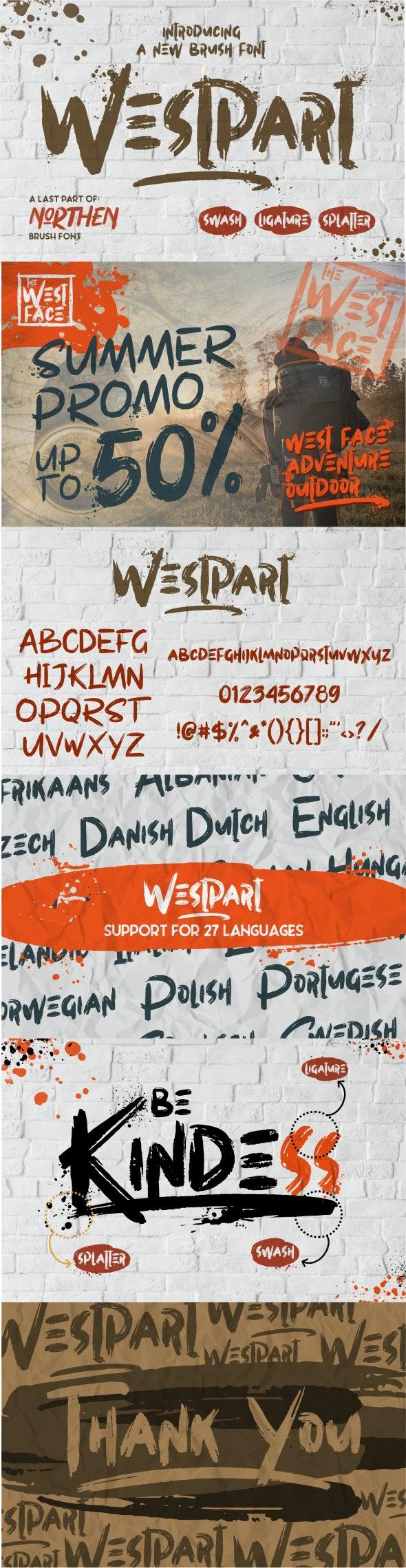 Westpart - Graffiti Fonts