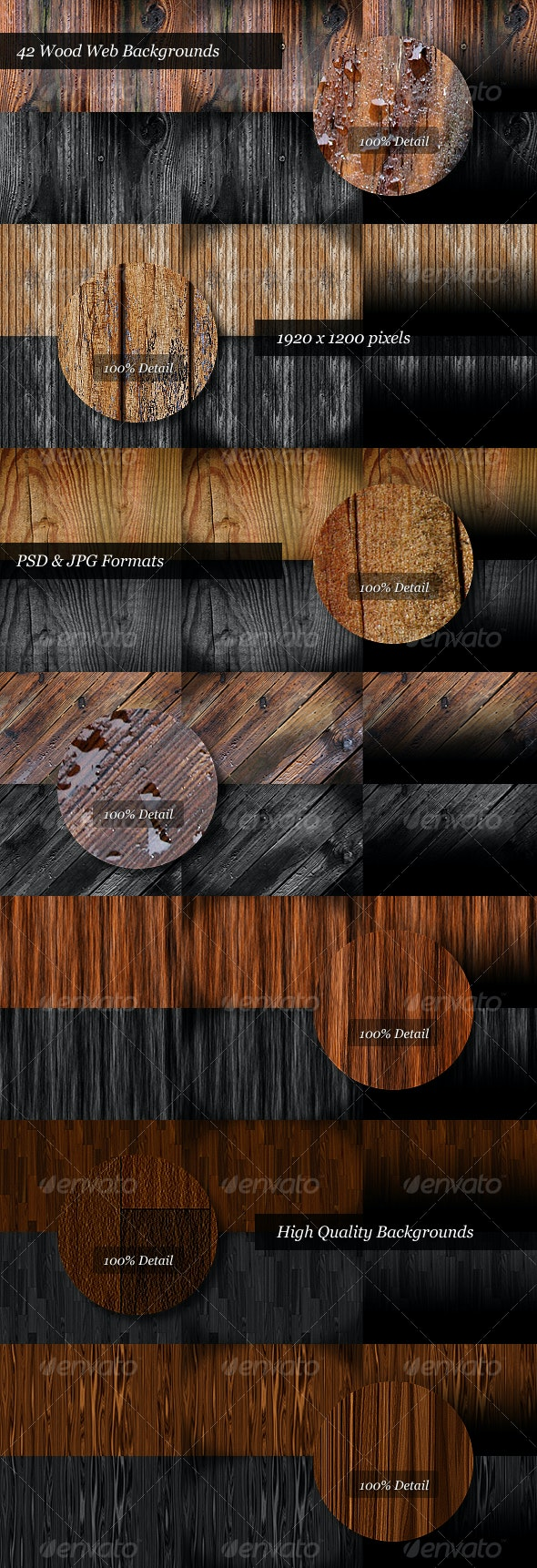 Wood Backgrounds - Miscellaneous Backgrounds