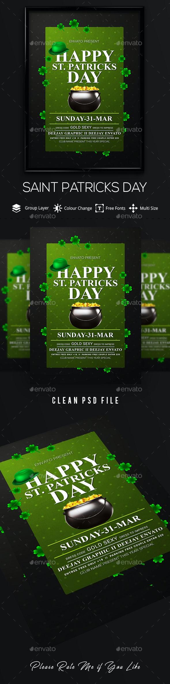 Saint Patricks Day - Clubs & Parties Events