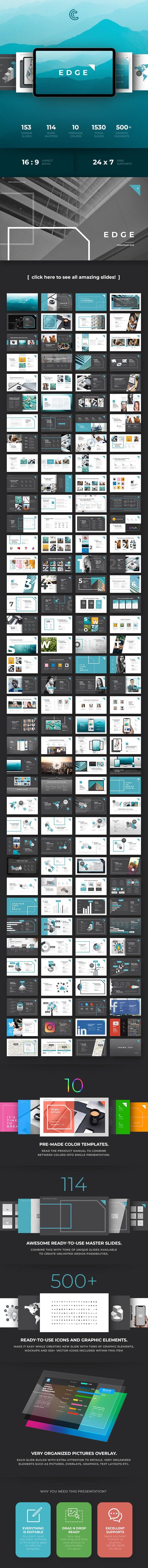 Edge Keynote - Keynote Templates Presentation Templates
