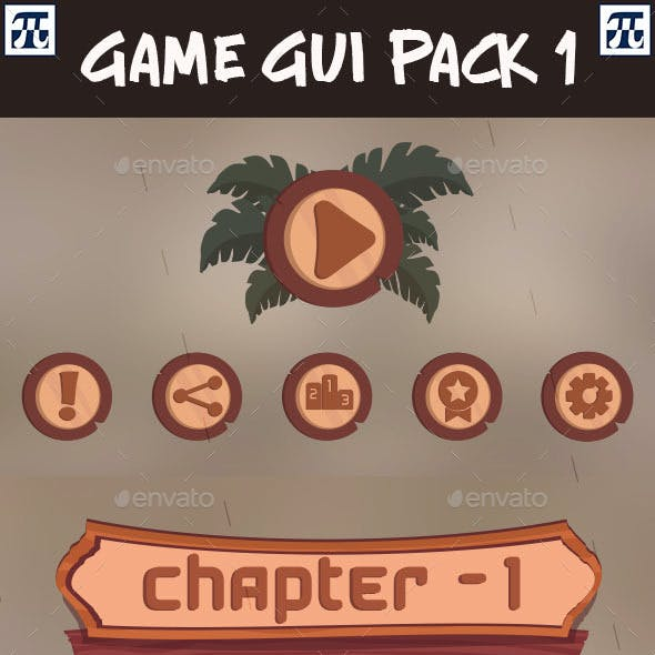 Game UI Pack - 1