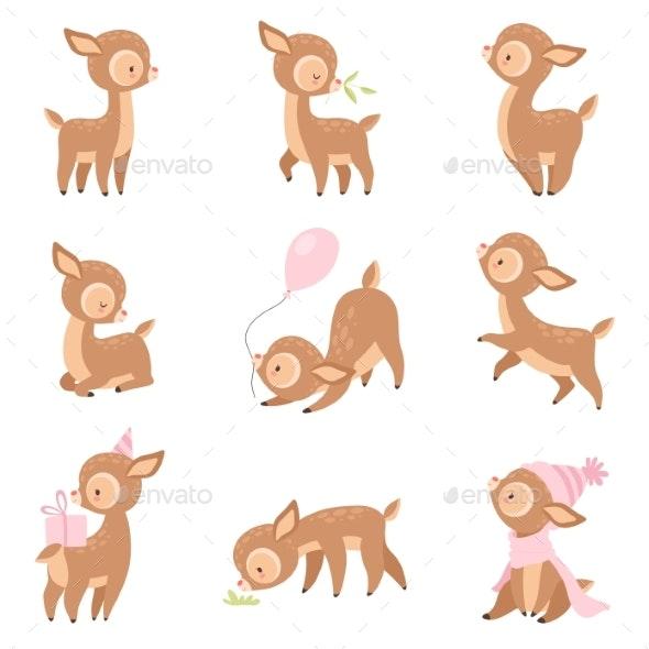 Baby Deer - Animals Characters
