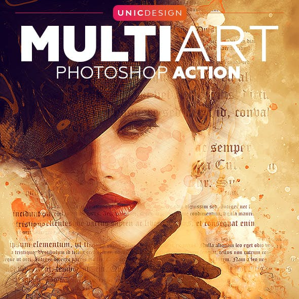 MultiArt Photoshop Action