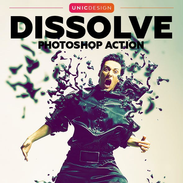 Dissolve Photoshop Action