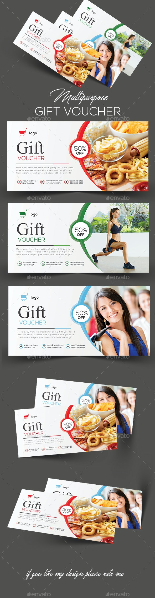 Gift Vouchers Template - Greeting Cards Cards & Invites