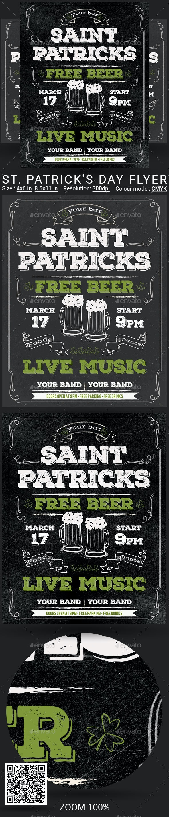 Patrick Day - Events Flyers