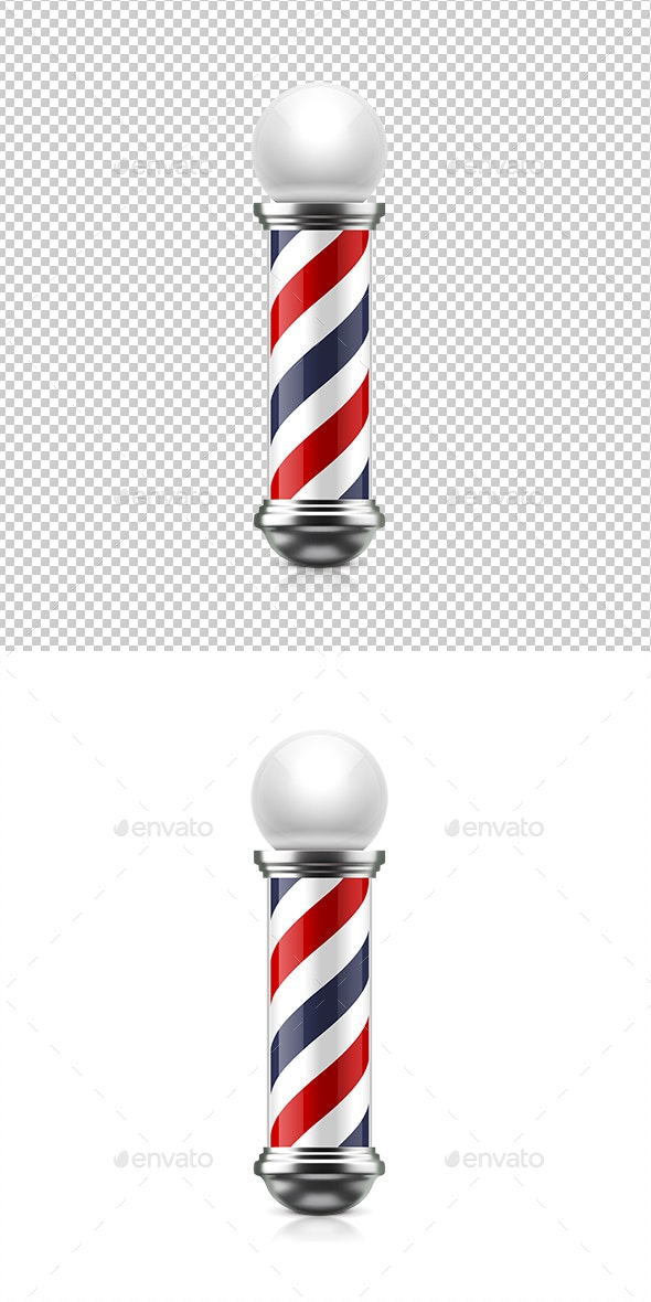 Barber Pole - Man-made Objects Objects