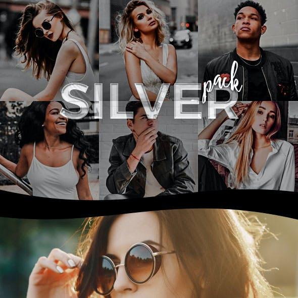 3 Selective Color Lightroom Presets - Silver Pack (+Mobile Version)