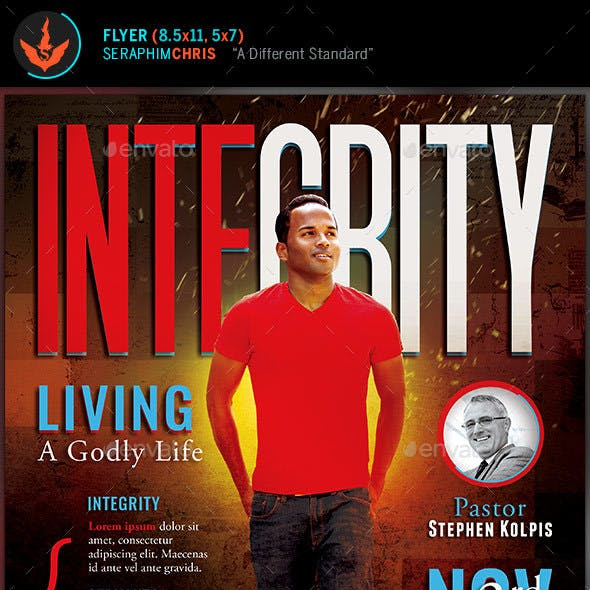 Integrity: Church Flyer Template