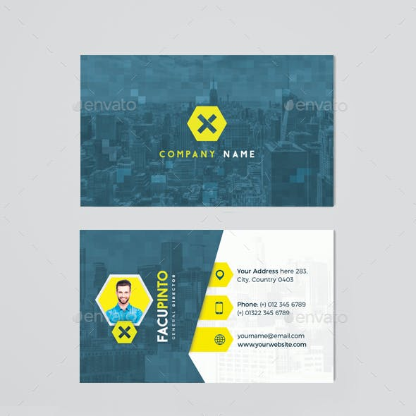 Personal Or Business Presentation Card