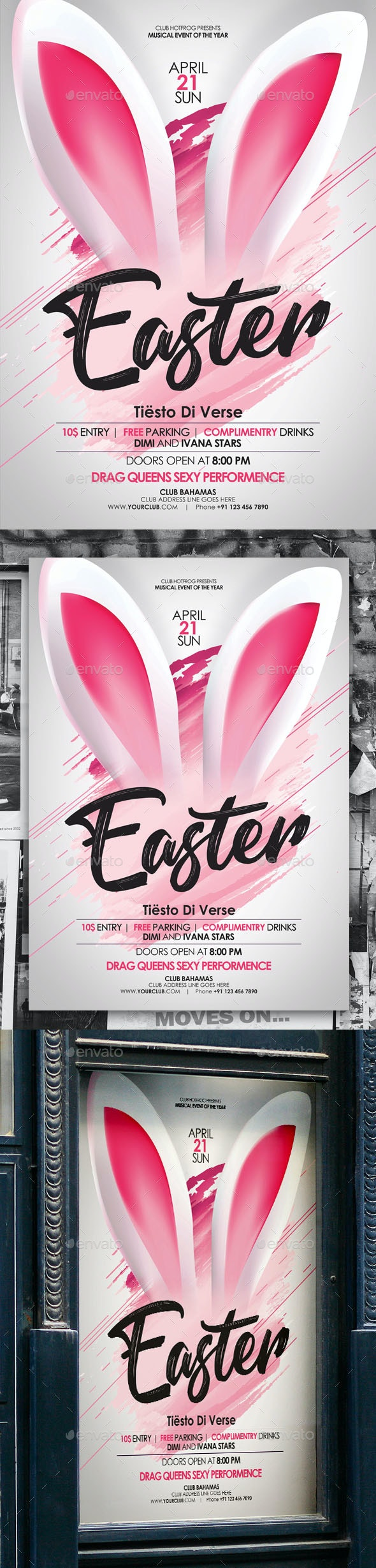 Easter Poster - Events Flyers