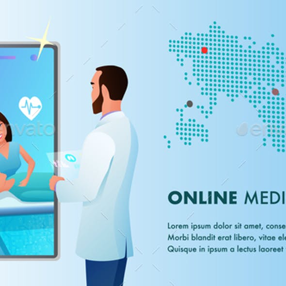 Online Medicine Doctor Videocall by Smartphone
