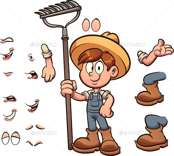 Farmer Boy - People Characters